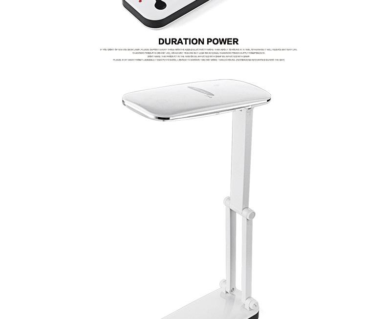 dp/久量led护眼学习台灯dp-118折叠式卧室床头创意灯充电式护眼灯