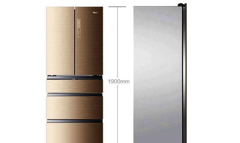 haier/海尔冰箱bcd-426wdgbu1 426升 变频