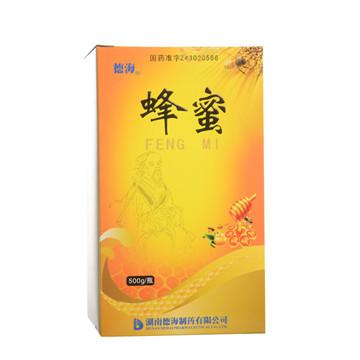 【瀚银通、健保通】蜂蜜 德海 500g*1瓶