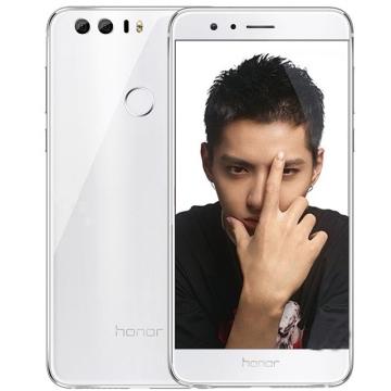 华为 荣耀8手机 全网通版白色行货 4GB+32GB 双镜头 双2.5D玻璃