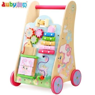 澳贝 羊羊奇趣学步车 适用12个月以上宝宝 宝宝身体锻炼 宝宝玩具