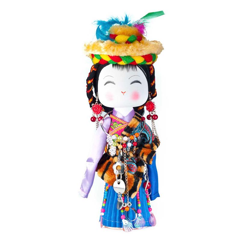 云南民族特色工艺品民族木娃娃藏族民族娃娃主产品供