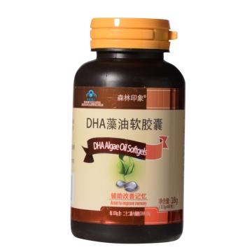 森林印象DHA藻油软胶囊 18g(0.3g*60粒)