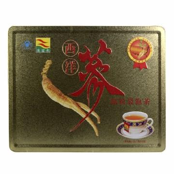 【瀚银通、健保通】康富来牌西洋参原粒袋泡茶 铁盒 2g*40包