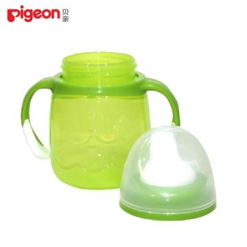贝亲 鸭嘴式宝宝杯(绿色) 2阶段 5个月以上 180ml DA73