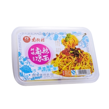 南街村 鲜湿面   方便速食  休闲美味 麻辣味 248g/盒