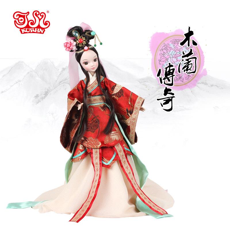 可儿 中国风系列 木兰红妆 8岁以上 智能娃娃 9095