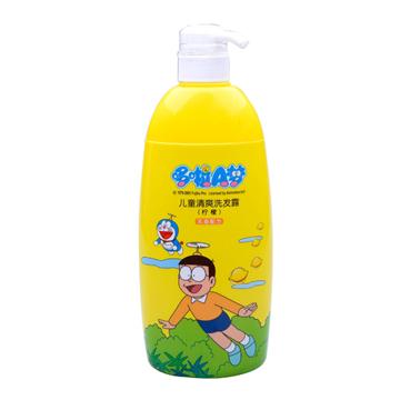 哆啦A梦 柠檬香型儿童清爽洗发露 720g 滋养发丝 温和不刺激