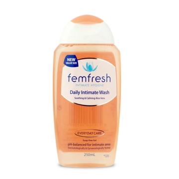 【澳洲直邮】FEMFRESH 原味女性私处洗液护理液去异味白带止痒 250ml