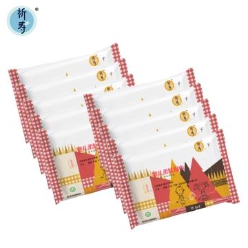 祈寿 婴儿柔肤湿巾10片/包*10包装
