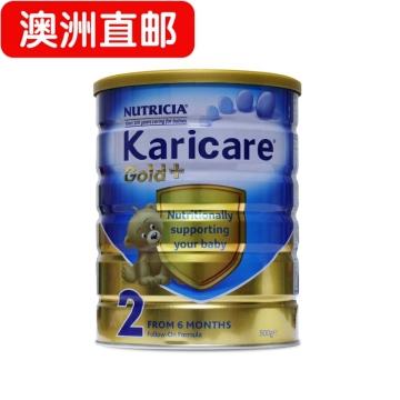 【澳洲直邮】karicare/可瑞康金装婴幼儿奶粉2段 6-12个月 900g*6 包邮
