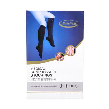迈兹 静脉曲张袜 弹力袜 血栓袜 肤色 短筒包趾 一级压力