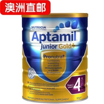 【澳洲直邮】Aptamil/爱他美金装婴幼儿配方奶粉4段 2岁以上宝宝 900g*3 包邮
