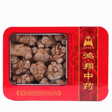 【健保通】鸿翔 三七 30头红铁盒(长形)250g 云南