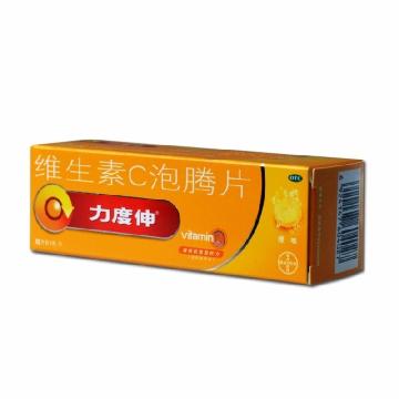 【瀚银通、健保通】力度伸 维生素C泡腾片 1g*10片*1支