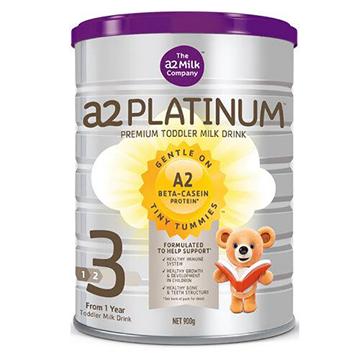[澳洲直邮]澳洲A2 Platinum白金婴儿奶粉 3段(1岁以上)900g/罐*2