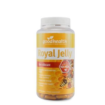 【澳洲直邮】Good health/好健康天然蜂王浆胶囊1000mg 365粒*2瓶 包邮