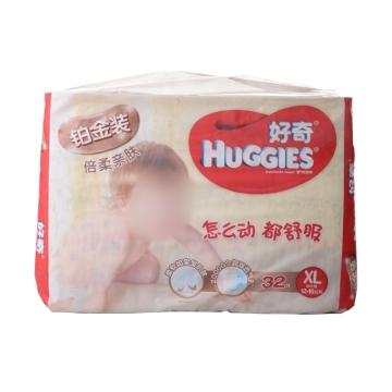 好奇铂金装透气纸尿裤XL(12-16公斤) 32片