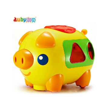 澳贝 精灵金猪6M+ 463408 早教益智玩具 适合6个月以上