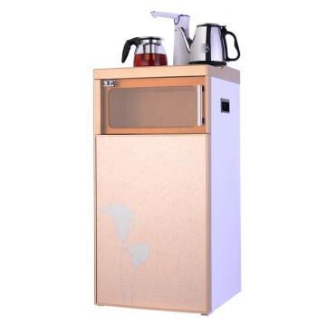 冬芒 多功能双门双开茶吧机家用立式饮水机办公室烧开水机dmh-01c