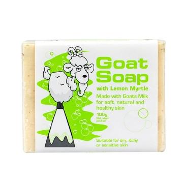 【海外直采 国内现货】Goat Soap柠檬味羊奶皂 沐浴保湿洁面 100g
