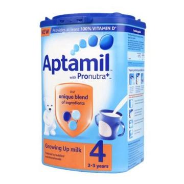 英国原装进口 爱他美Aptamil奶粉 4段 2-3岁使用 800g*6罐