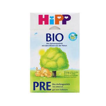 德国Hipp Bio喜宝有机新生儿奶粉Pre段(0-3个月宝宝)600g*2