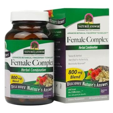【七二四】Female Complex™女士珍贵草本专利复合配方素食胶囊(90粒)调节内分泌 养护卵巢 美容养颜