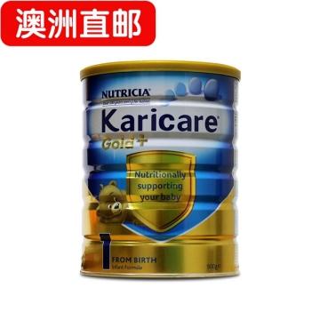 【澳洲直邮】karicare/可瑞康金装婴幼儿奶粉1段 0-6个月 900g*6 包邮