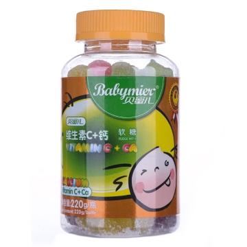 【瀚银通、健保通】贝蜜儿维生素C+钙软糖 220g