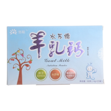 悠聰水蘇糖羊乳鈣營養補充劑(固體飲料) 60g(4g*15袋)