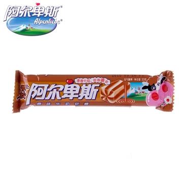 阿尔卑斯 原味牛奶软糖充气糖果 33g 休闲零食品
