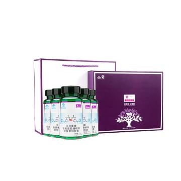 紫一 百合康牌 氨基葡萄糖硫酸软骨素钙胶囊 5盒装