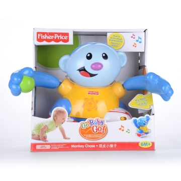 风火轮 fisherprice顽皮小猴子 h8128 双语玩具 婴幼儿玩具