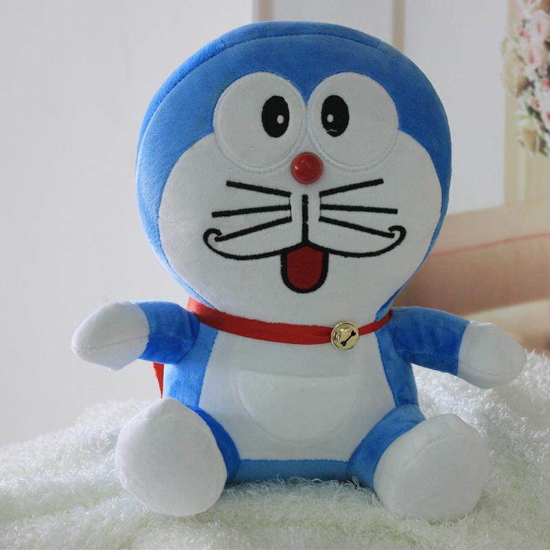 可爱卡通动漫毛绒玩具公仔玩偶布偶叮当猫 笑眯眯 50cm 礼物礼品