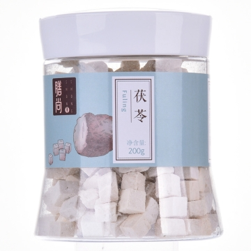 【瀚銀通、健保通】茯苓 膳尚塑瓶200g 云南