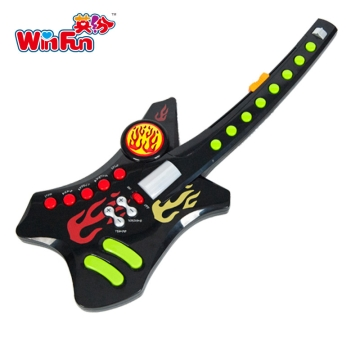英纷 摇滚之王吉他 儿童宝宝早教益智乐器玩具 3Y+ 培养宝宝音乐兴趣