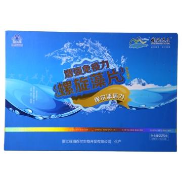 程海保爾牌螺旋藻片(禮盒裝) 225g(0.5g*150片*3瓶)