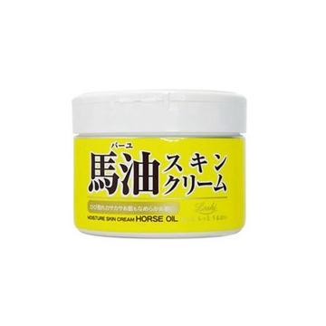 日本北海道LOSHI马油皮肤霜滋润保湿面霜220g