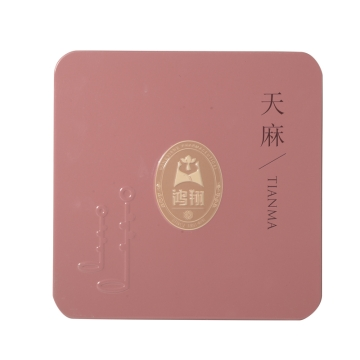 天麻 鸿翔原皮特级铁盒250g 云南