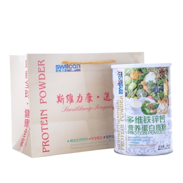 斯维力康 多维铁锌钙蛋白质粉 1000g/瓶
