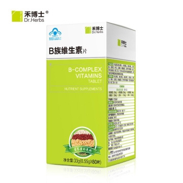 Dr.Herbs禾博士 B族维生素片 0.55g/片*100片