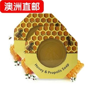 【澳洲直邮】Parrs/帕氏天然蜂胶皂沐浴蜂蜜皂 保湿滋润祛痘140g*2瓶 包邮