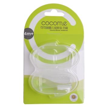 可可萌嬰兒硅膠乳牙刷 CC-7702
