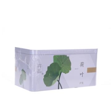 荷叶 卉品铁盒27g(1.5g*18袋) 云南