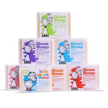 澳洲进口Goat Soap山羊奶皂 手工皂 燕麦味 包邮 100g