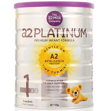 [澳洲直邮]澳洲A2 Platinum白金婴儿奶粉 1段(0-6个月)900g/罐*2