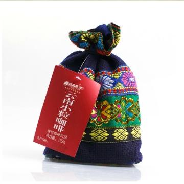 后谷咖啡 阿诗玛民族布袋原味风味速溶三合一咖啡192g云南特产小粒咖啡