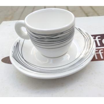 双煞咖啡杯 浓缩咖啡杯 创意咖啡杯 陶瓷杯 精美 时尚 经典杯型