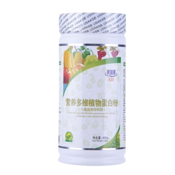 康倍健 营养多维植物蛋白粉(儿童益智助长型) 480g*罐